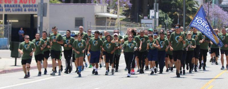 AEI Supports Law Enforcement Torch Run for the Special Olympics