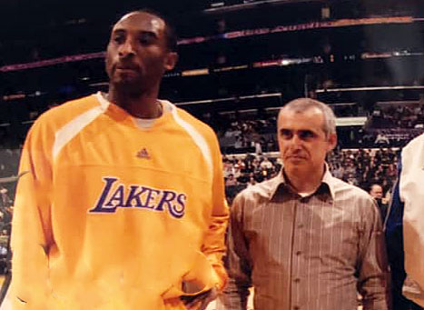 Our condolences to the Bryant family and the Lakers community